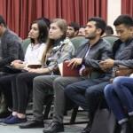 Встреча с первокурсниками из Узбекистана